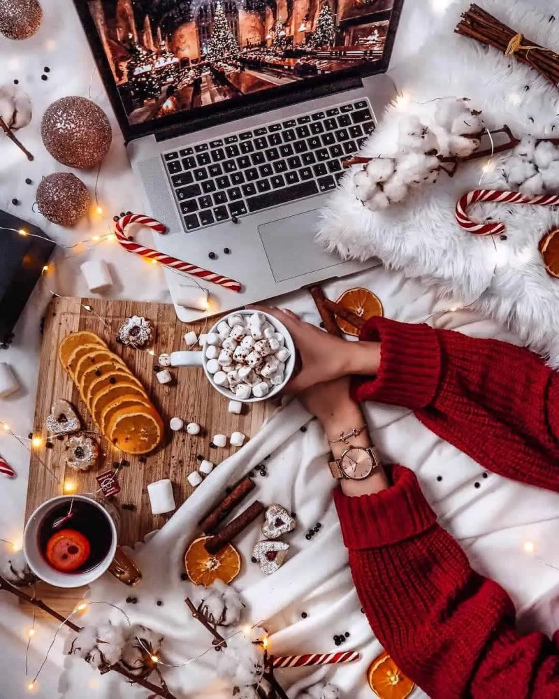 30 Christmas Aesthetic Images you must see: WARNING you will get Christmas mood INSTANTLY! 169