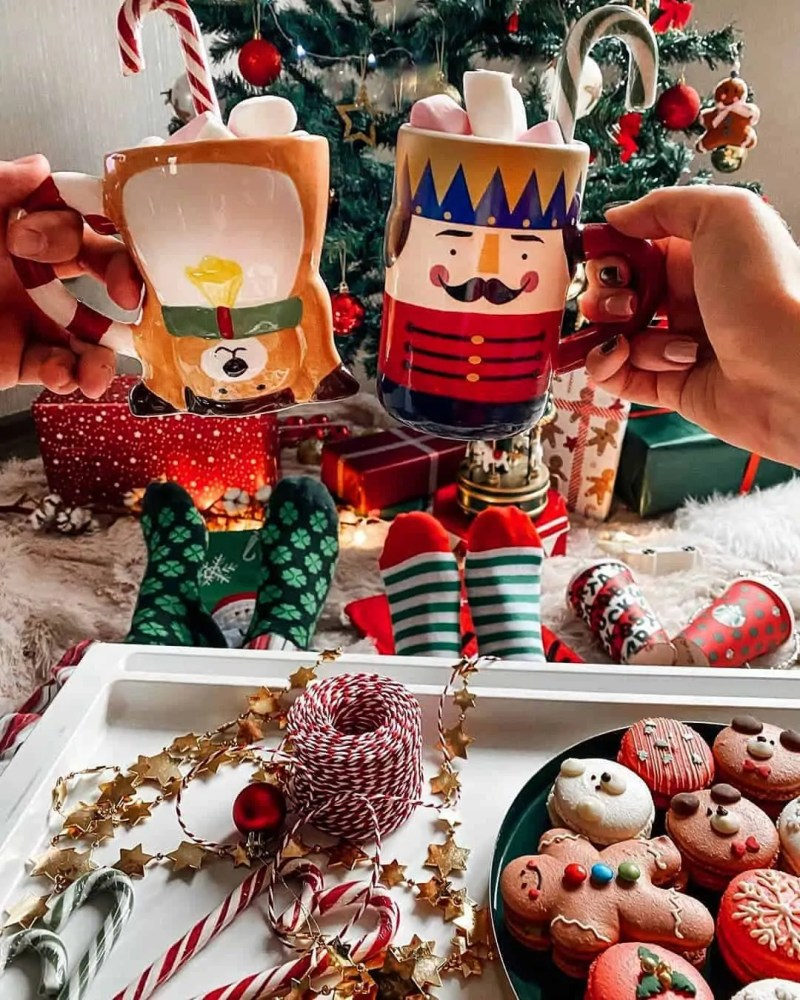 30 Christmas Aesthetic Images you must see: WARNING you will get Christmas mood INSTANTLY! 69