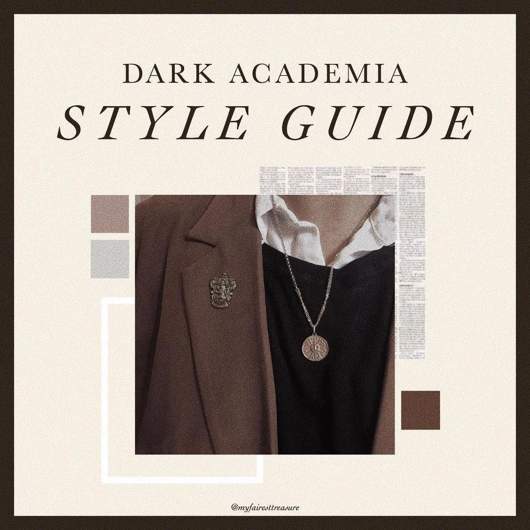 Dark Academia: style, books, and the rest of must-know things! 1