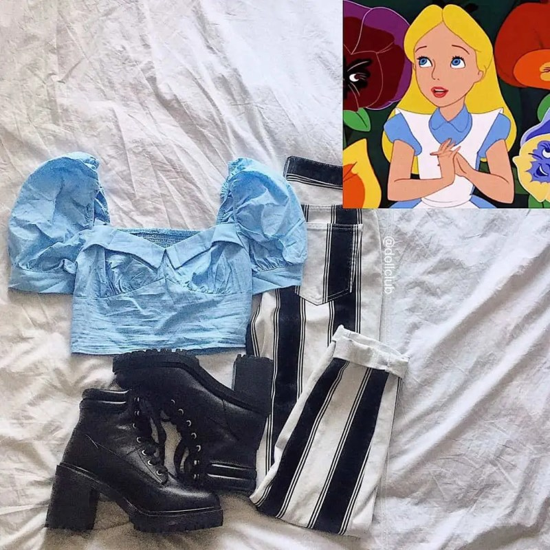 30+ Outfits Inspired by Disney that you have to see! 89