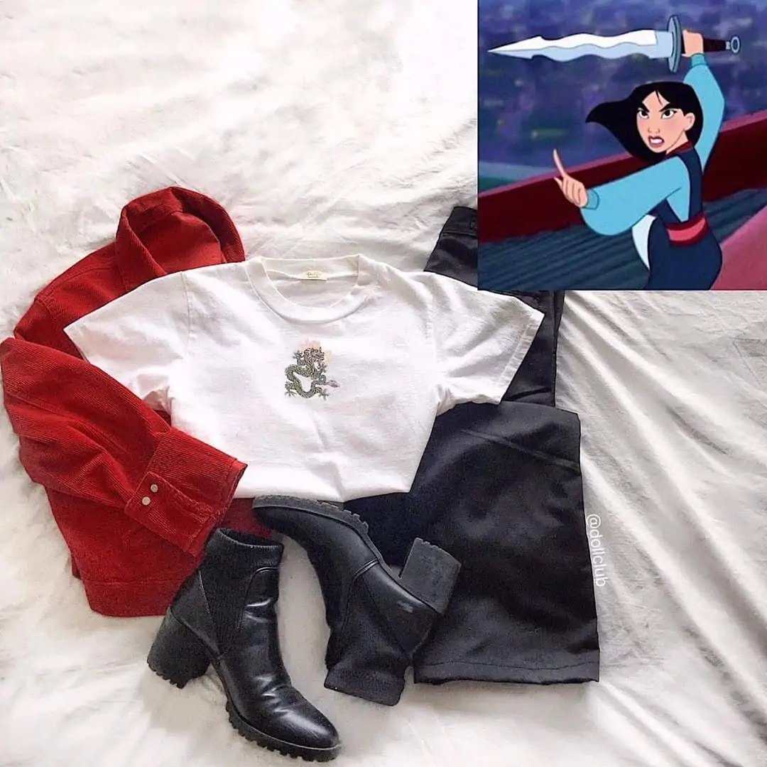 30+ Outfits Inspired by Disney that you have to see! 15