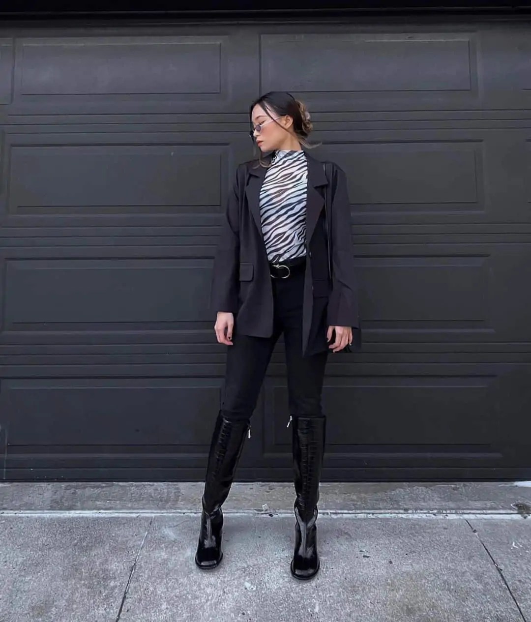 All black outfit ideas that you have to see - ultimate inspo guide 131