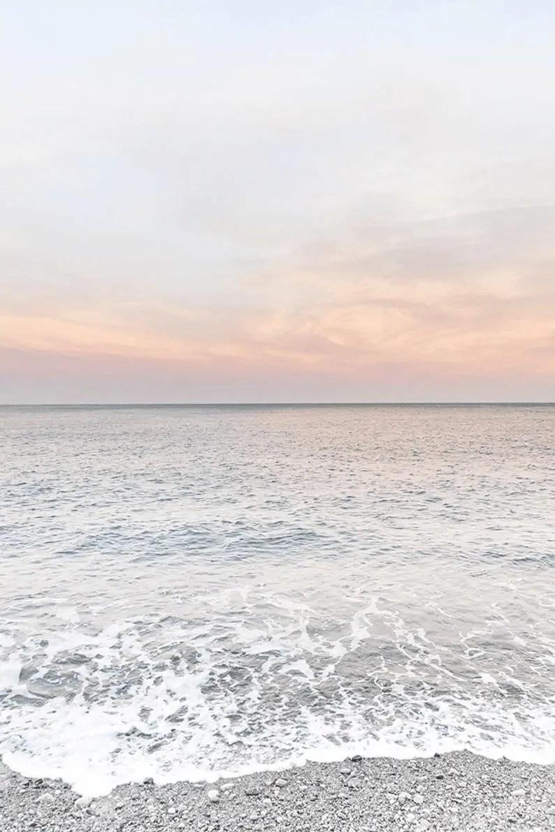 Beach-Print-Pink-Wall-Art-Coastal-Decor-DIGITAL-DOWNLOAD 5