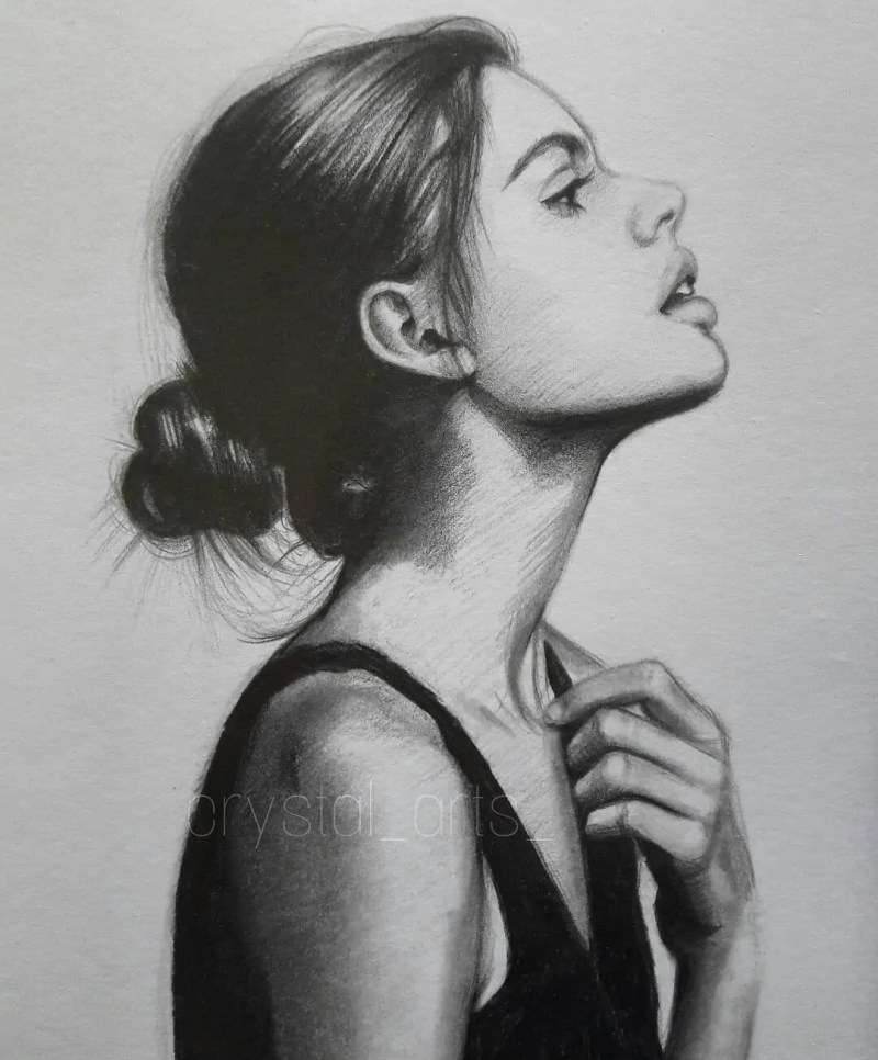 100+ Stunning Realistic Portrait Drawings 163