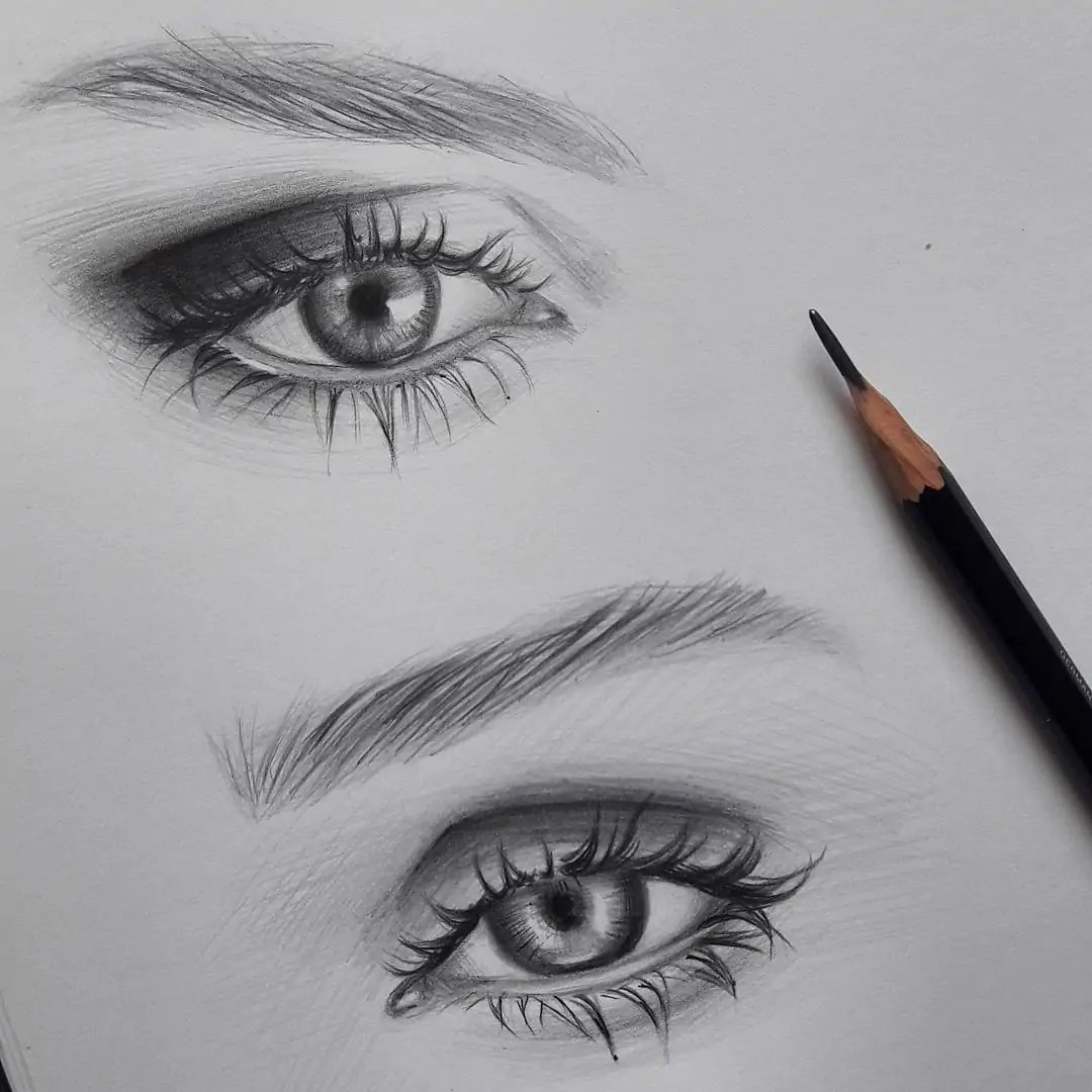 100+ Stunning Realistic Portrait Drawings 335