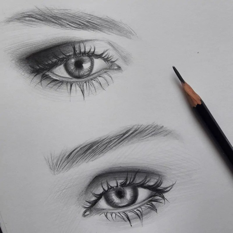 100+ Stunning Realistic Portrait Drawings 145