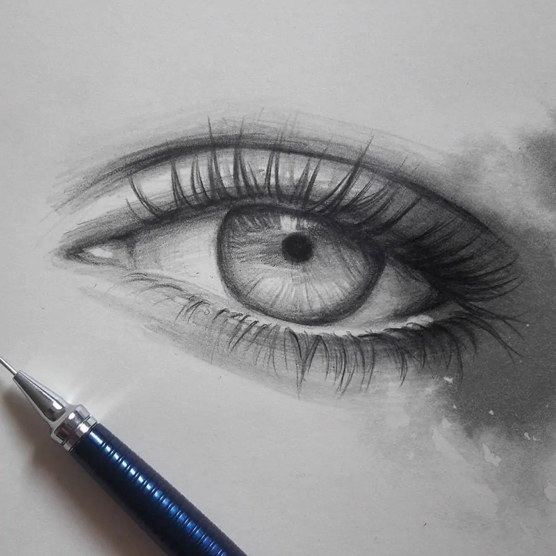 100+ Stunning Realistic Portrait Drawings 105