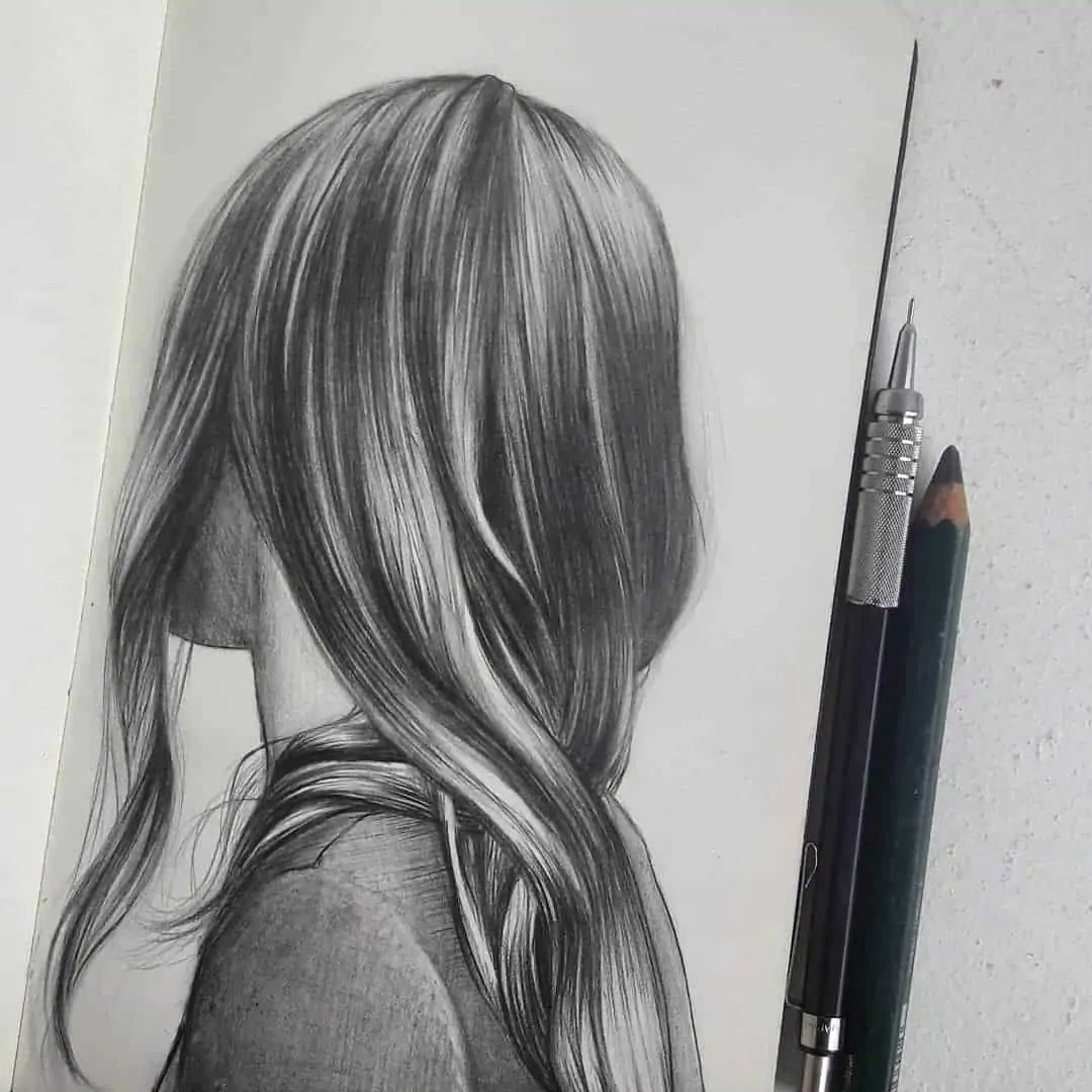 100+ Stunning Realistic Portrait Drawings 249