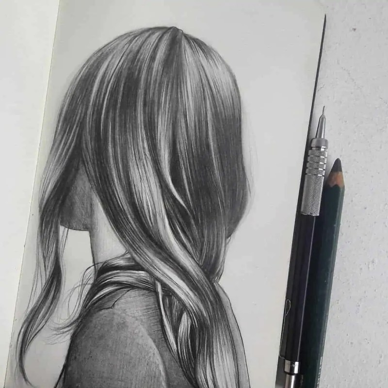 100+ Stunning Realistic Portrait Drawings 59