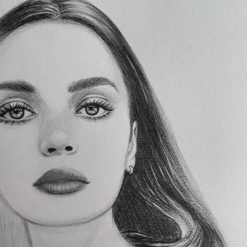 100+ Stunning Realistic Portrait Drawings 49