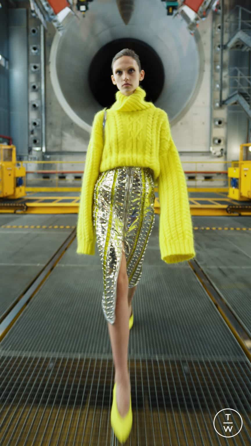 BALMAIN FALL/WINTER 2021 — Look 45