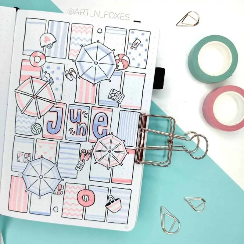 100+ Bullet Journal Ideas that you have to see and copy today! 460