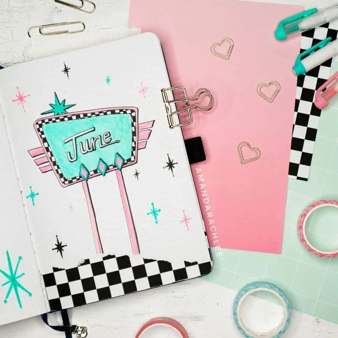 100+ Bullet Journal Ideas that you have to see and copy today! 202