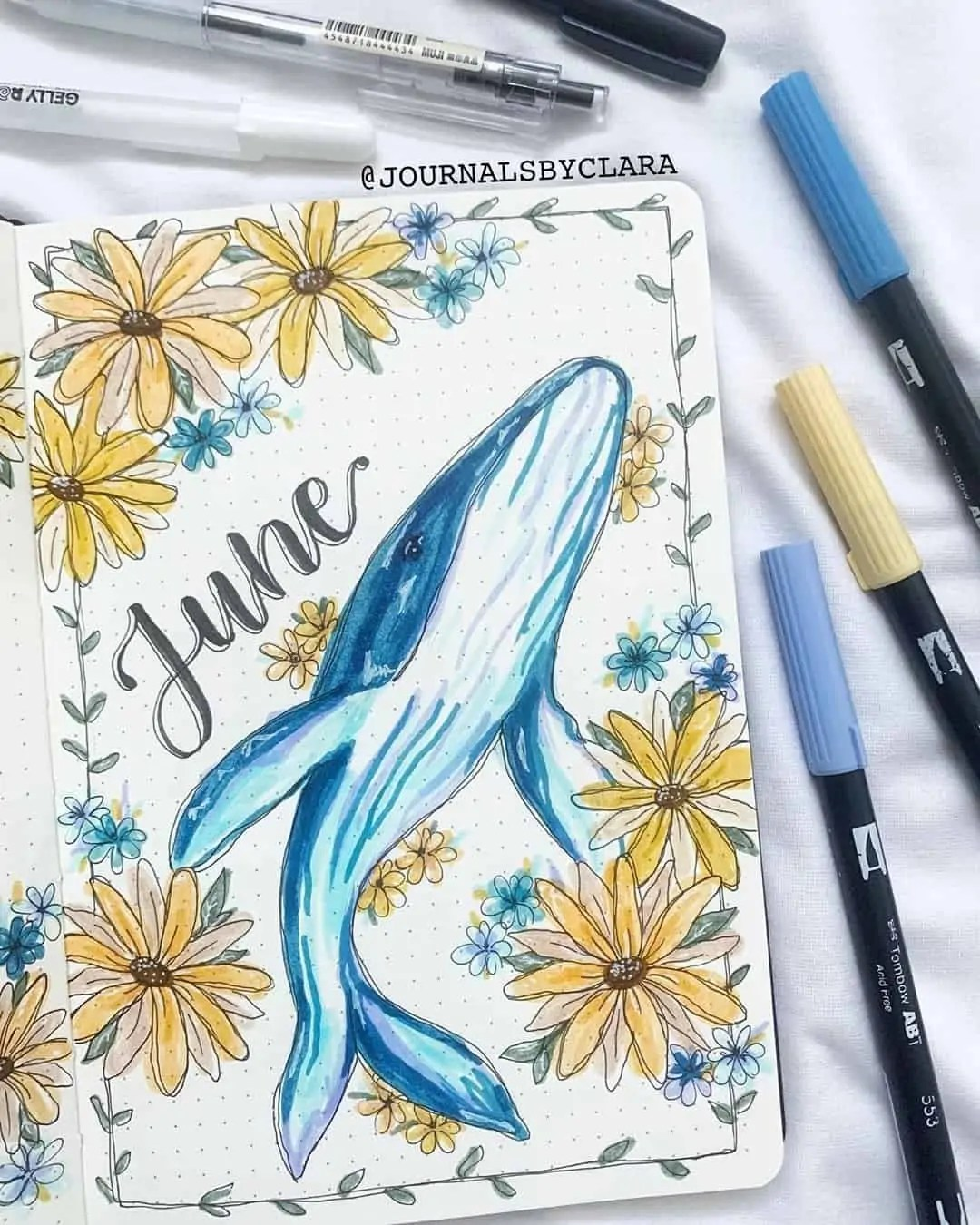 100+ Bullet Journal Ideas that you have to see and copy today! 220