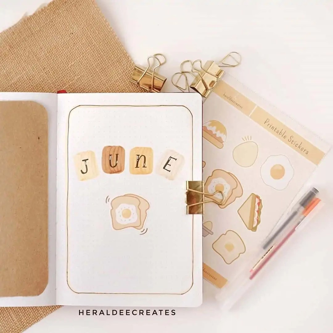 100+ Bullet Journal Ideas that you have to see and copy today! 232