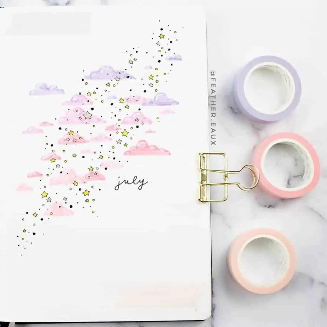 100+ Bullet Journal Ideas that you have to see and copy today! 288