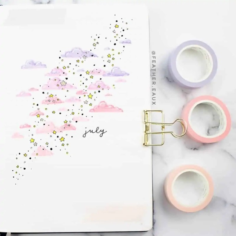 100+ Bullet Journal Ideas that you have to see and copy today! 548