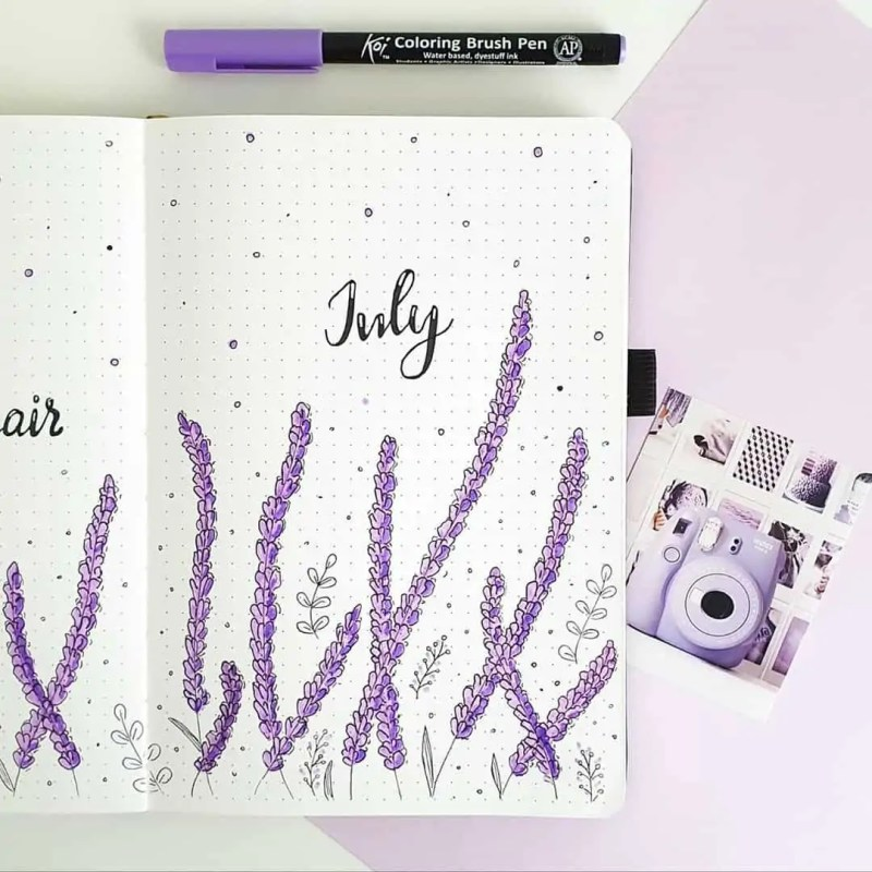 100+ Bullet Journal Ideas that you have to see and copy today! 530