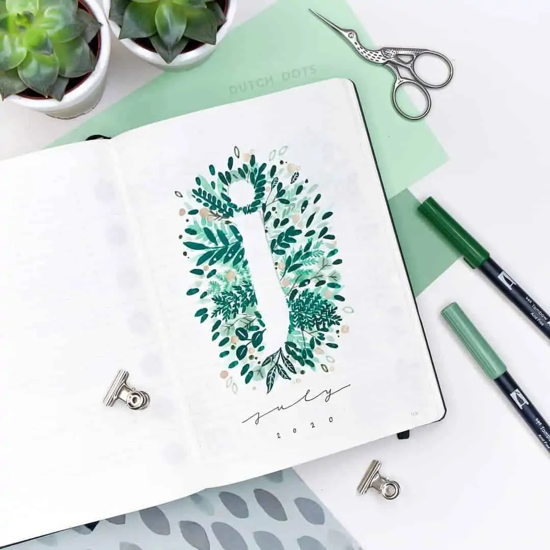 100+ Bullet Journal Ideas that you have to see and copy today! 268