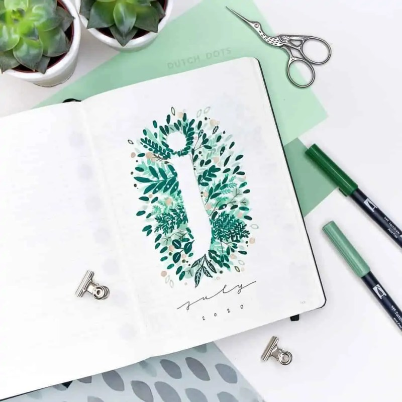 100+ Bullet Journal Ideas that you have to see and copy today! 528