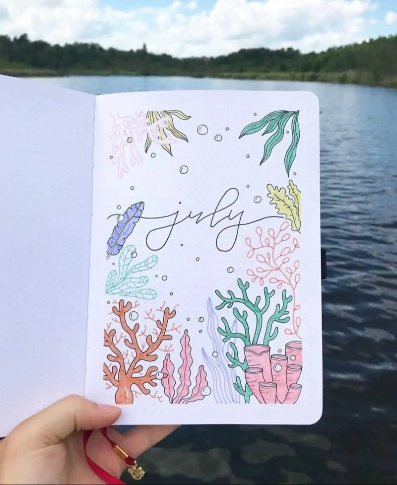 100+ Bullet Journal Ideas that you have to see and copy today! 526