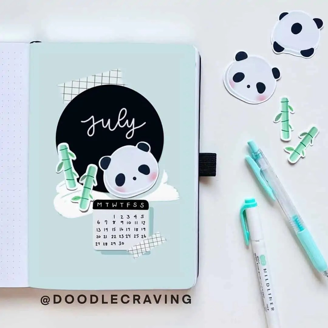 100+ Bullet Journal Ideas that you have to see and copy today! 254
