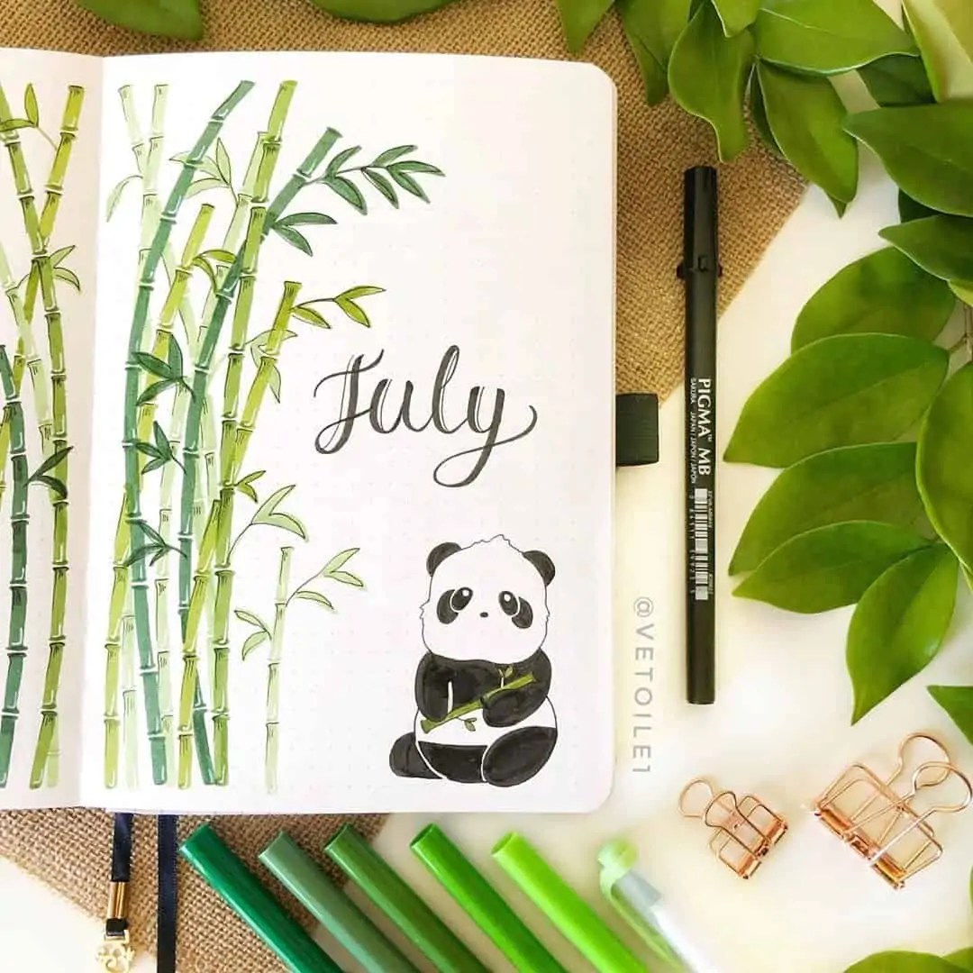 100+ Bullet Journal Ideas that you have to see and copy today! 252