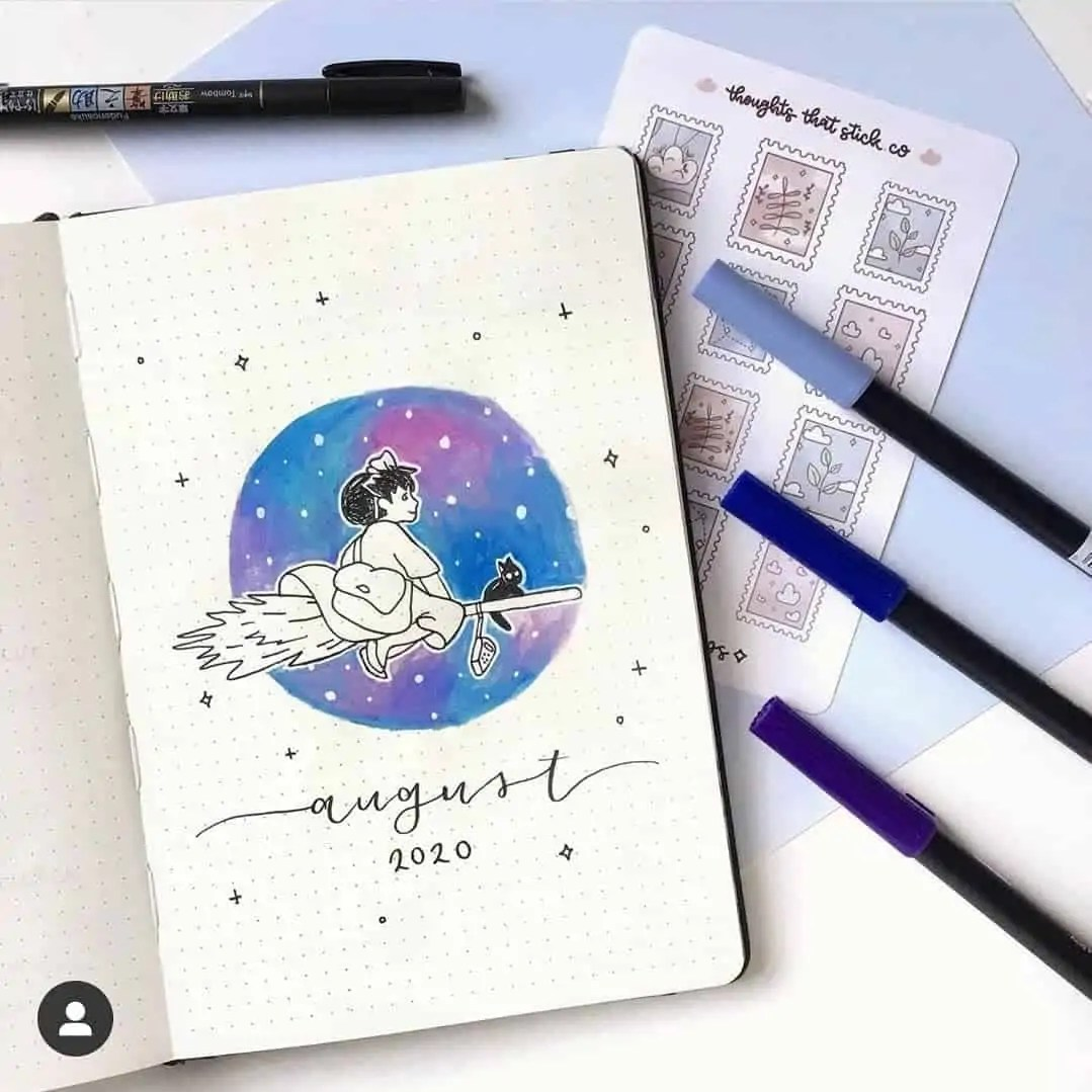 100+ Bullet Journal Ideas that you have to see and copy today! 320