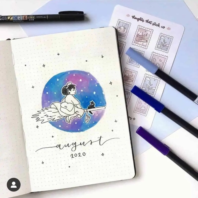 100+ Bullet Journal Ideas that you have to see and copy today! 580