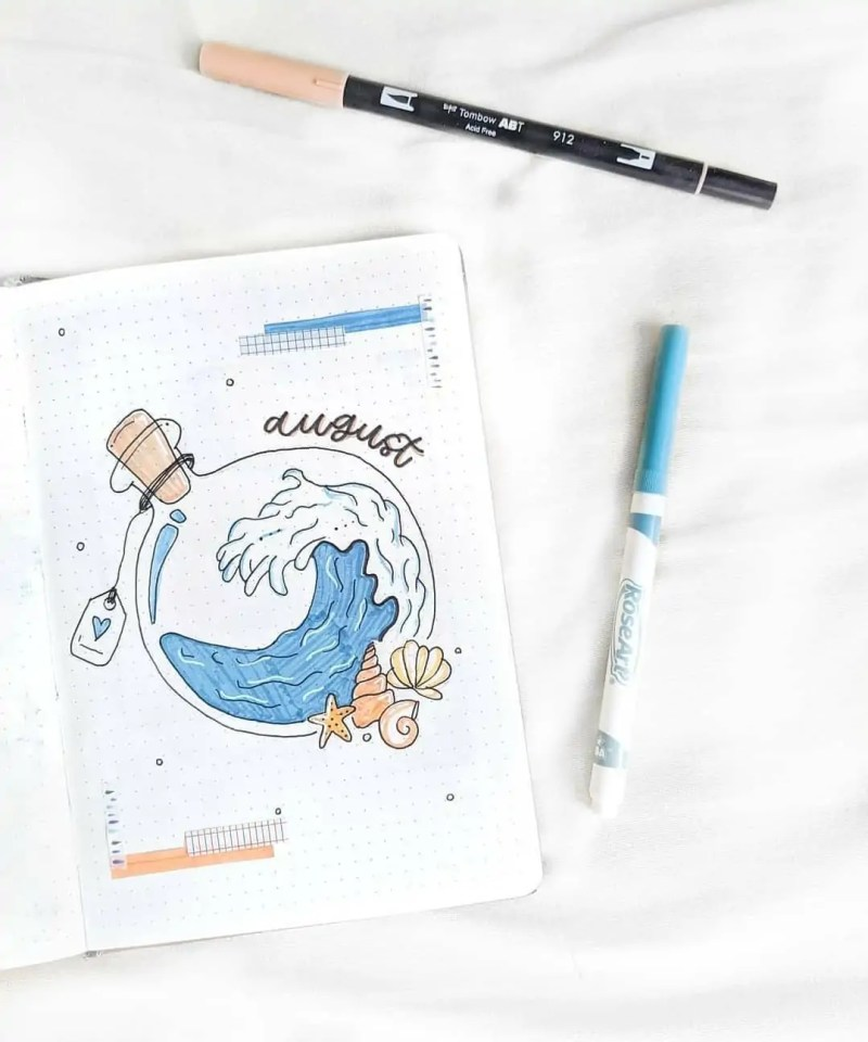 100+ Bullet Journal Ideas that you have to see and copy today! 576