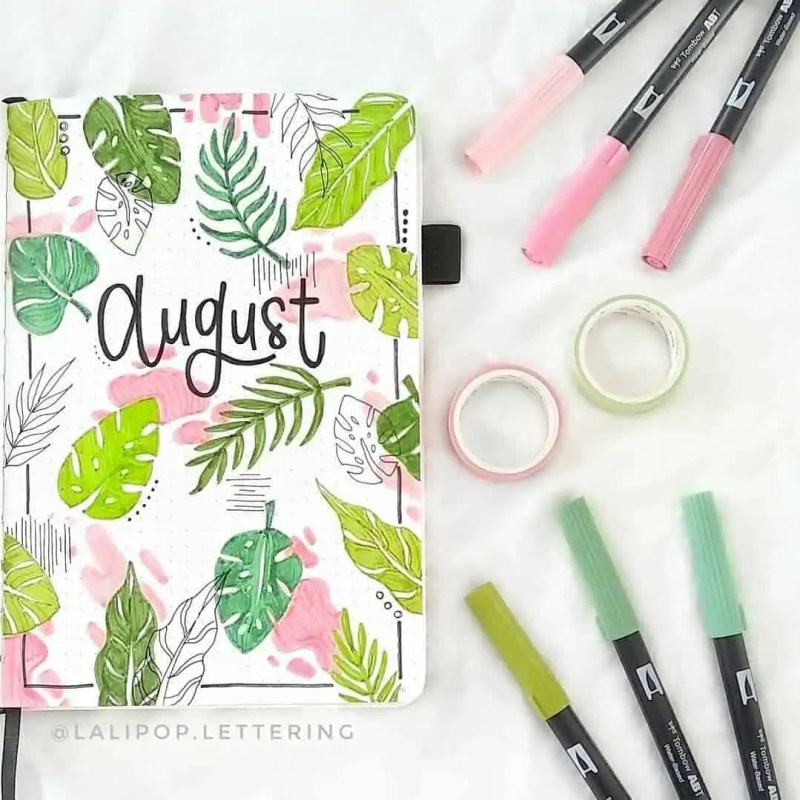 100+ Bullet Journal Ideas that you have to see and copy today! 570