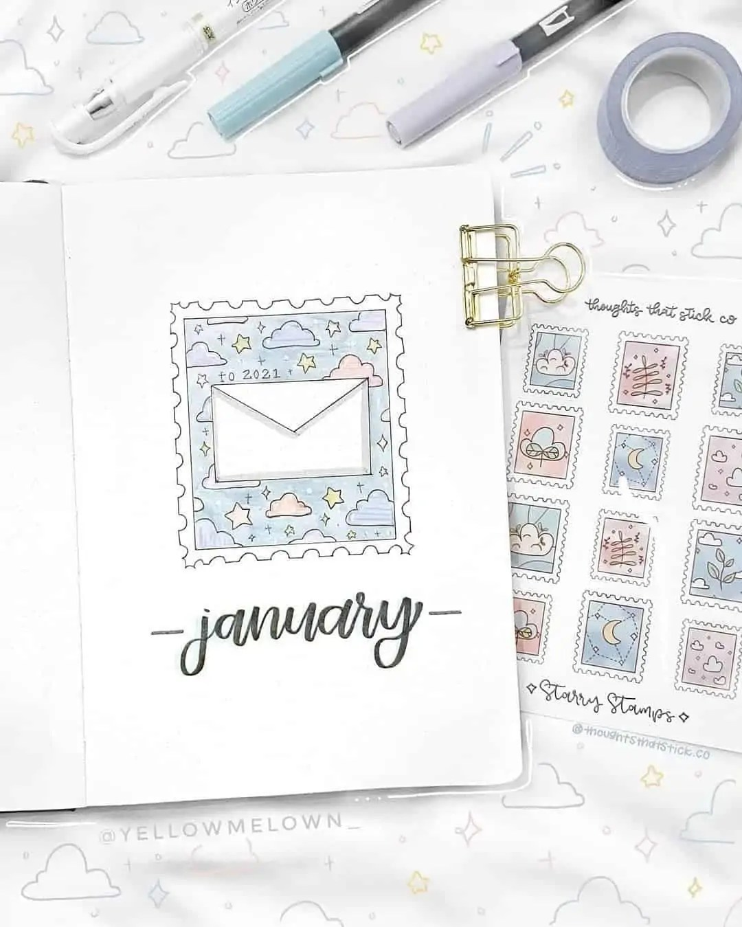 100+ Bullet Journal Ideas that you have to see and copy today! 11