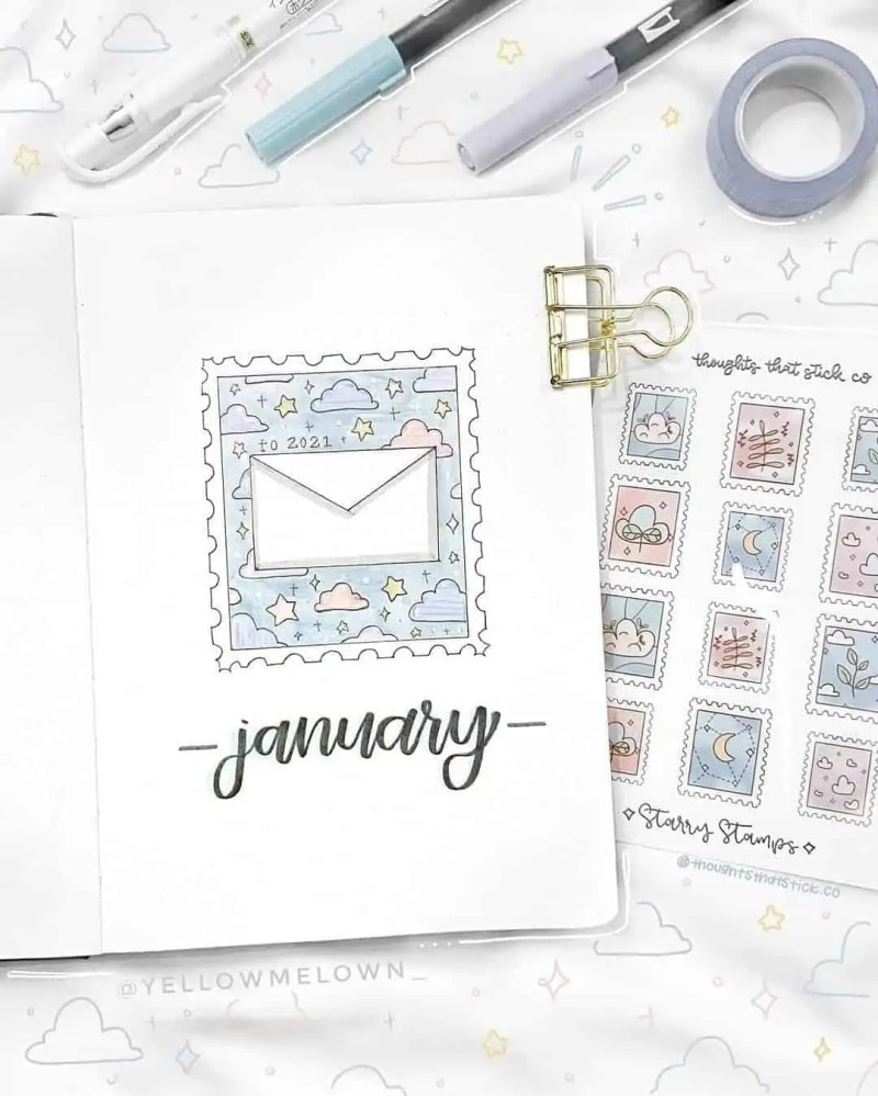 100+ Bullet Journal Ideas that you have to see and copy today! 271