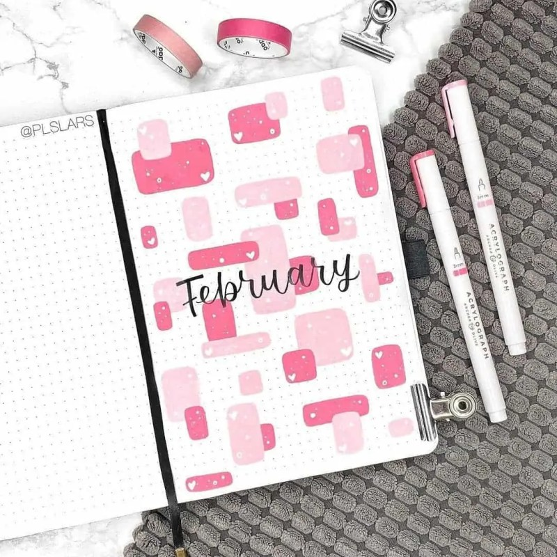 100+ Bullet Journal Ideas that you have to see and copy today! 311