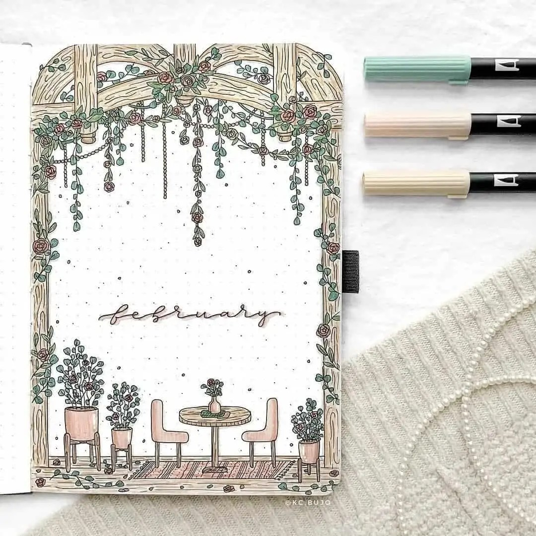 100+ Bullet Journal Ideas that you have to see and copy today! 42