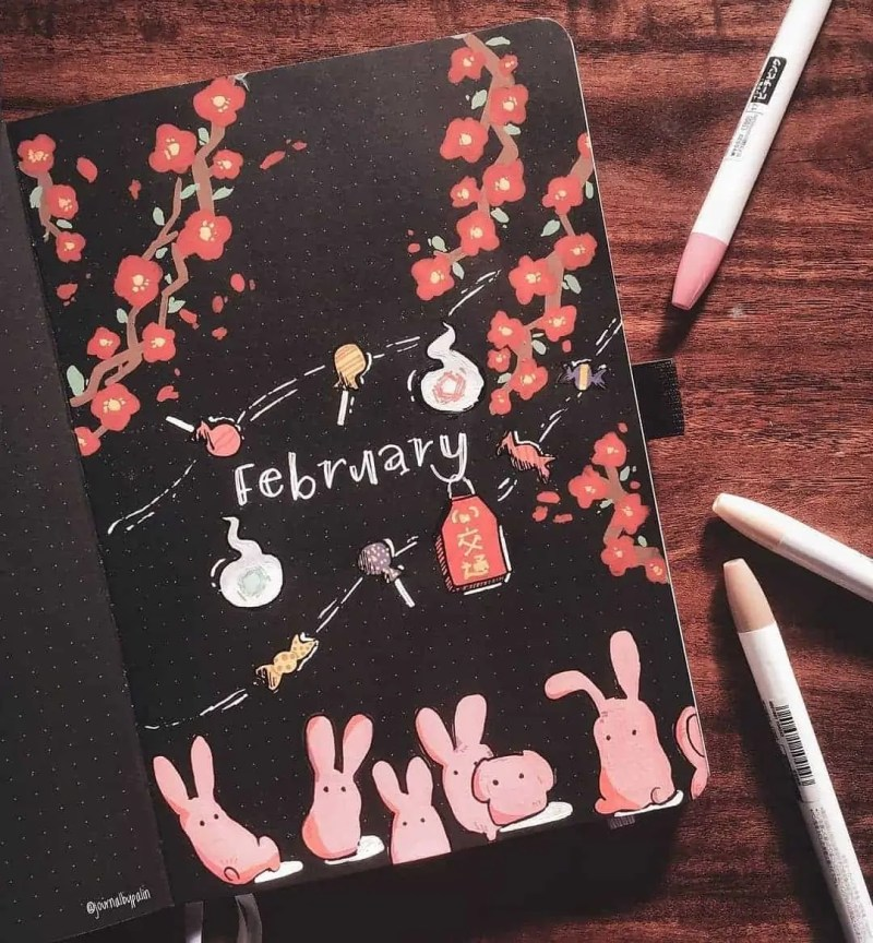 100+ Bullet Journal Ideas that you have to see and copy today! 294