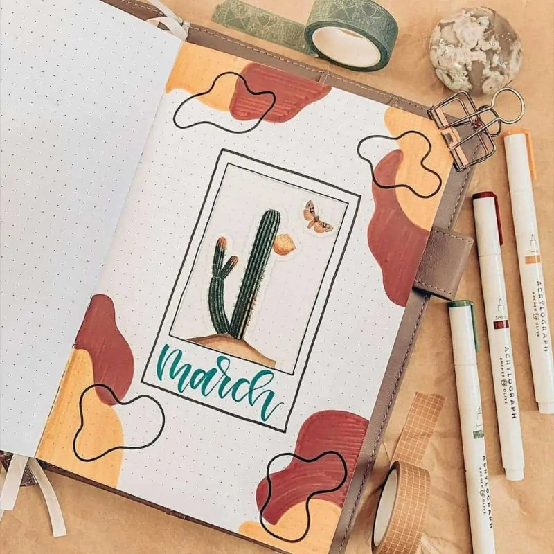 100+ Bullet Journal Ideas that you have to see and copy today! 362
