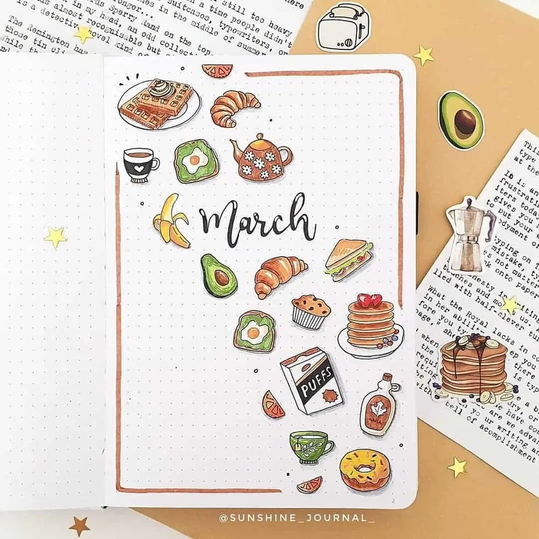 100+ Bullet Journal Ideas that you have to see and copy today! 58