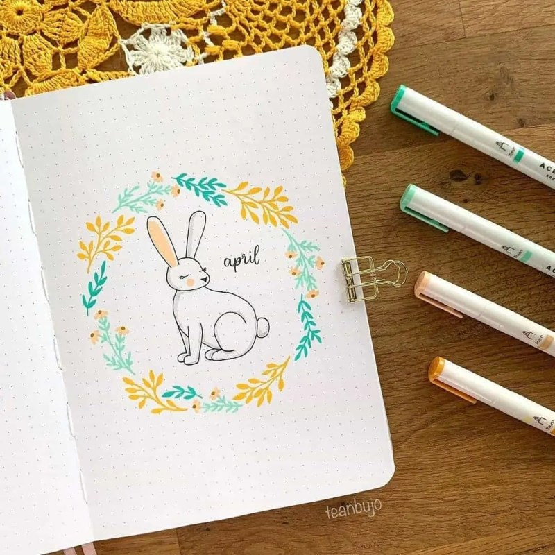 100+ Bullet Journal Ideas that you have to see and copy today! 402