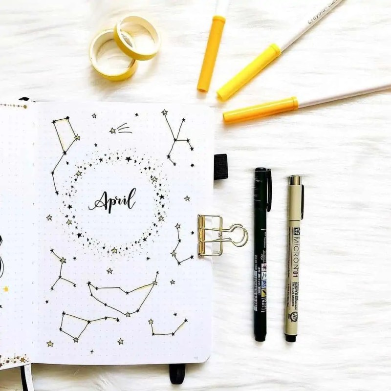 100+ Bullet Journal Ideas that you have to see and copy today! 400