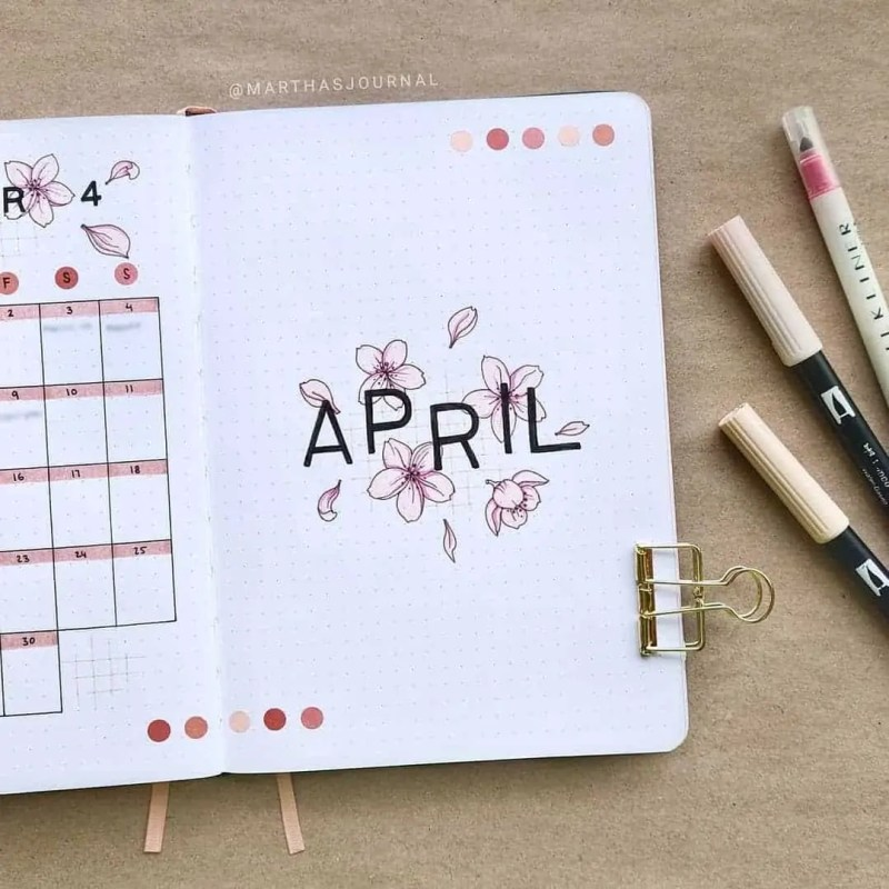 100+ Bullet Journal Ideas that you have to see and copy today! 388