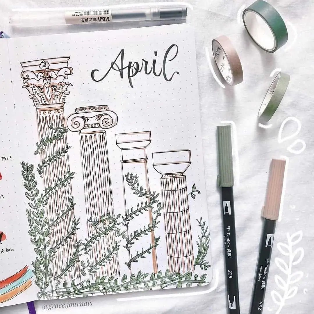 100+ Bullet Journal Ideas that you have to see and copy today! 118