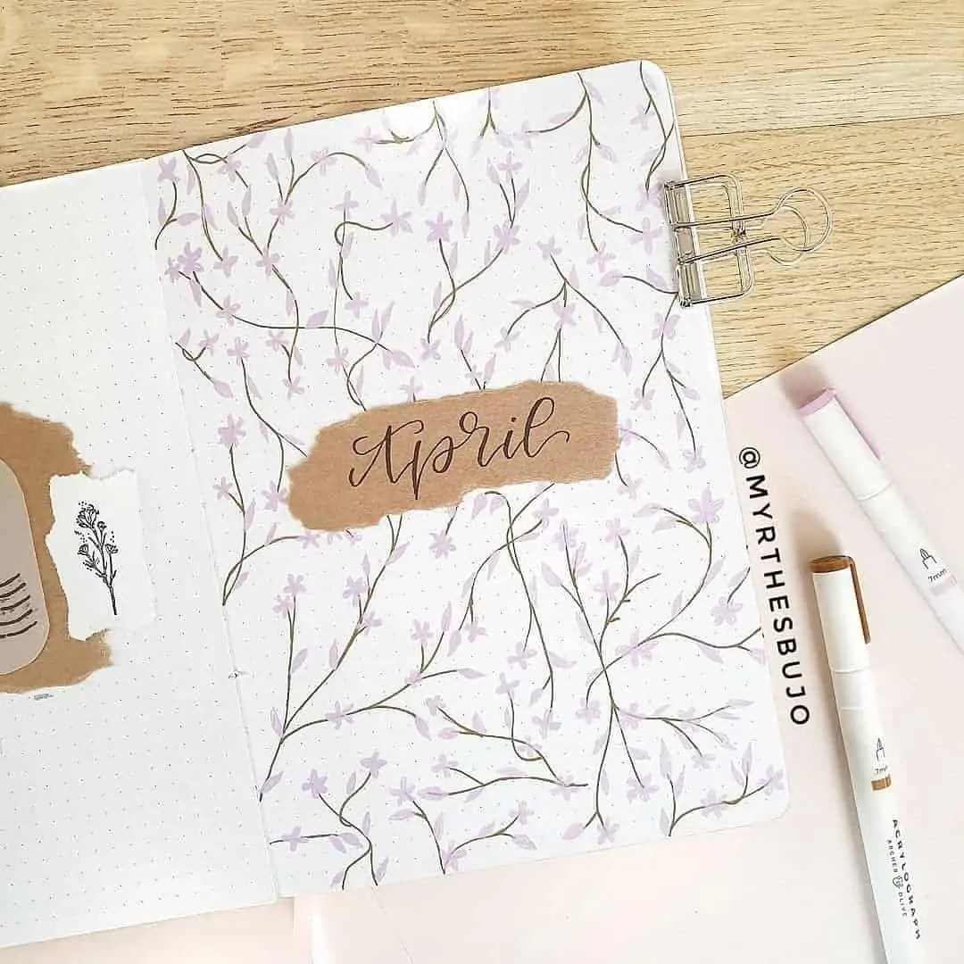 100+ Bullet Journal Ideas that you have to see and copy today! 112