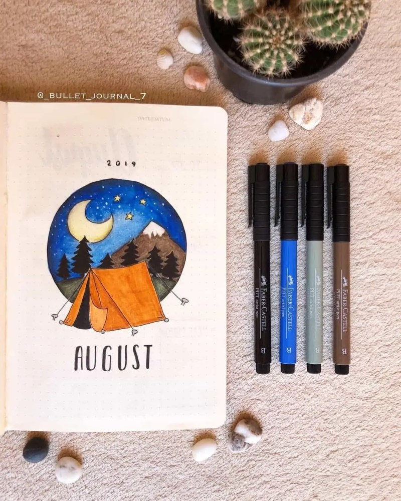 100+ Bullet Journal Ideas that you have to see and copy today! 642