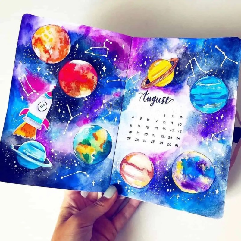100+ Bullet Journal Ideas that you have to see and copy today! 620