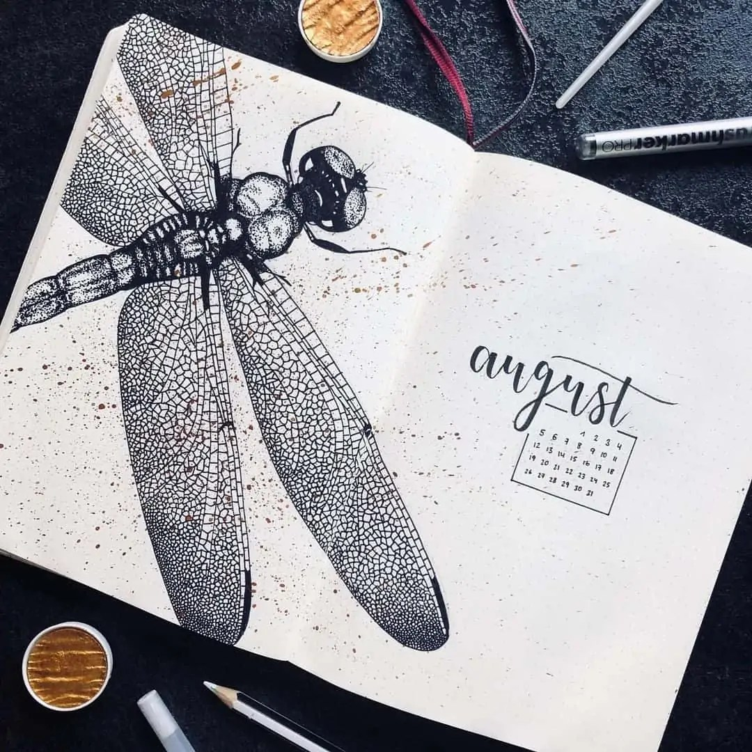 100+ Bullet Journal Ideas that you have to see and copy today! 350