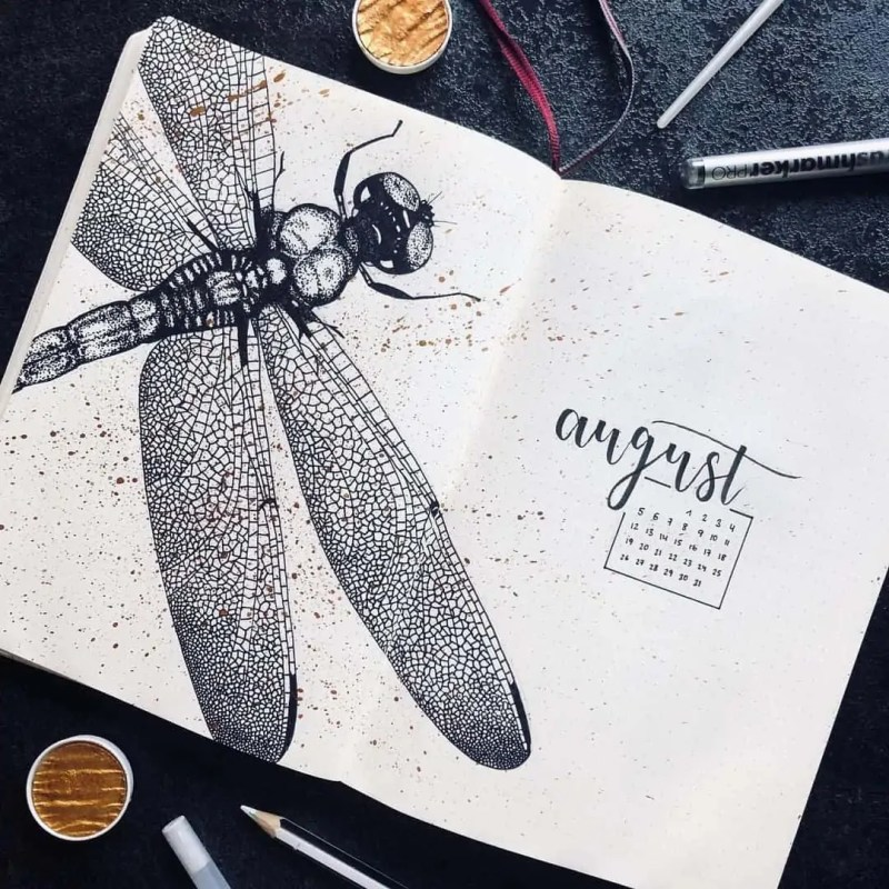 100+ Bullet Journal Ideas that you have to see and copy today! 610