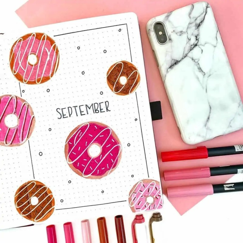 100+ Bullet Journal Ideas that you have to see and copy today! 672