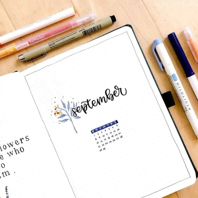 100+ Bullet Journal Ideas that you have to see and copy today! 658