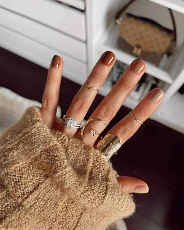 Fall Nails Ideas that you have to see 183